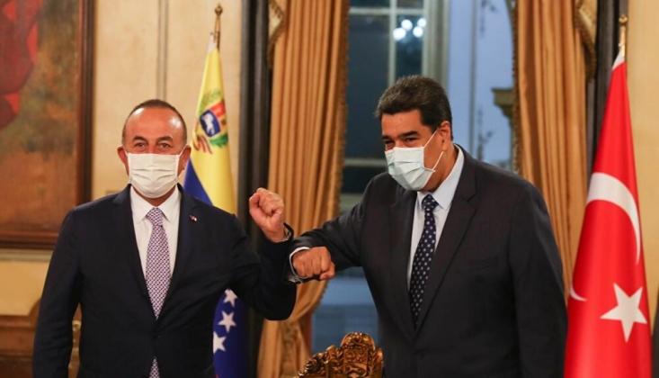 Çavuşoğlu, Maduro İle Görüştü