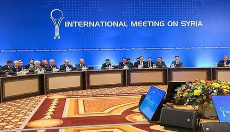 15. Astana Görüşmesi Soçi'de Yapılıyor