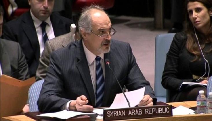 Suriye'den BM'ye ABD Mektubu
