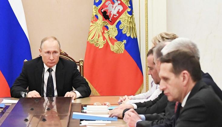 Putin, Kurmaylarıyla Türkiye ile Varılan Anlaşmayı Konuştu