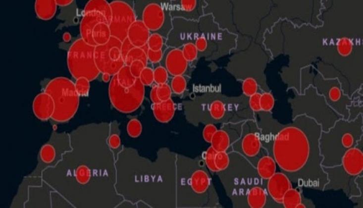 Dünya Genelinde Koronavirüs Vaka Sayısı Açıklandı