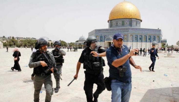 Siyonist Rejim Polisi Filistinlilerle Yeni Çatışmalara Hazırlanıyor