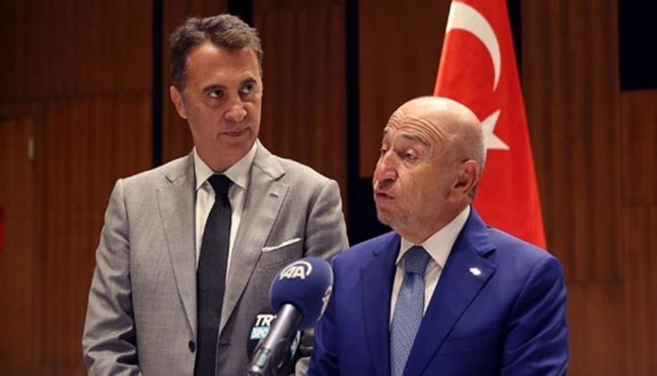 TFF Başkanı Özdemir: Fikret Orman'a 'Devam Etmen Gerek' Diyeceğim