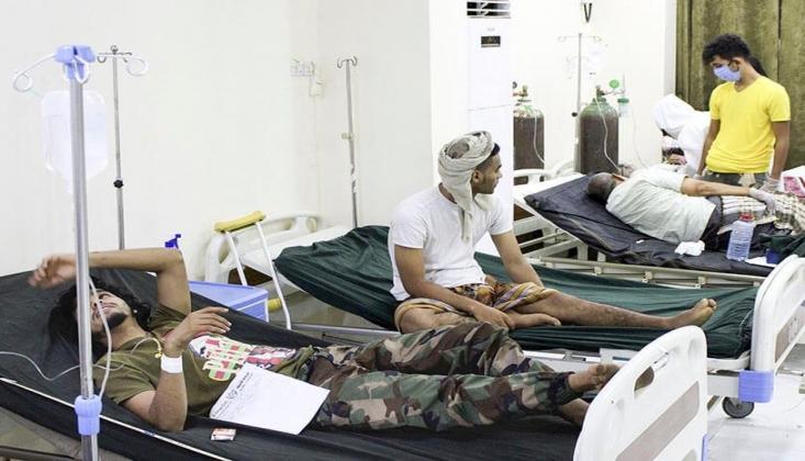 Yemen'de Kovid-19 Hızla Yayılıyor