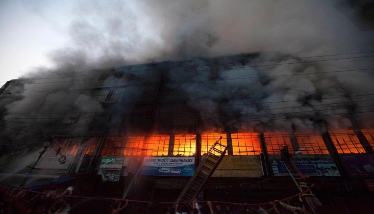 Bangladeş'te Korkunç Yangın; 52 İşçi Hayatını Kaybetti