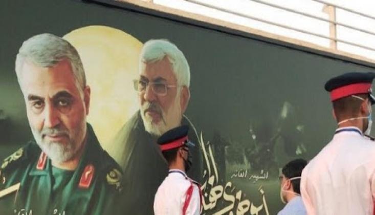 Irak Şehirleri Direniş Liderlerinin Posterleriyle Süslendi