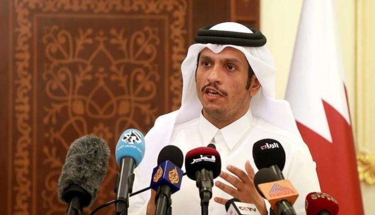 Katar Dışişleri Bakanından İran'a Teşekkür