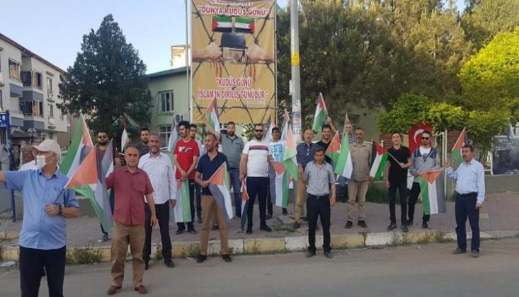 Iğdır'da Dünya Kudüs Günü Etkinliği