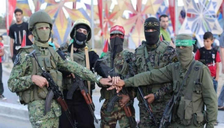 Direniş Gruplarından Ortak Tatbikat