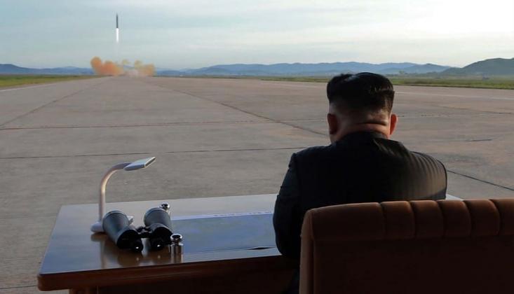 'Kuzey Kore'nin KPA Uzun Menzilli Füzeleri Başarılı'