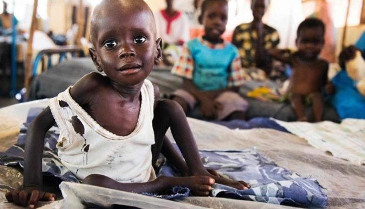Sudan'da 5 Yaş Altı 3 Milyon Çocuk Yetersiz Besleniyor