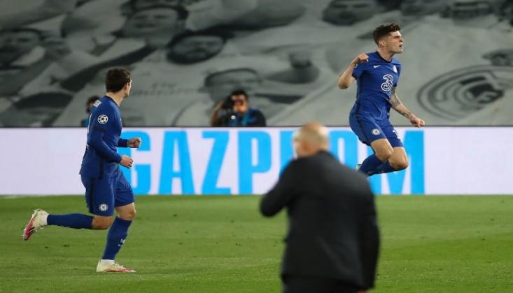 Chelsea, Real Madrid'den Avantajı Kaptı