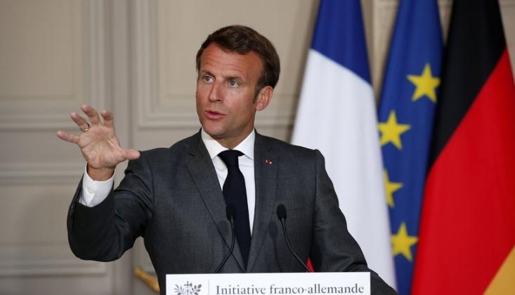 Macron'dan Türkiye Çıkışı