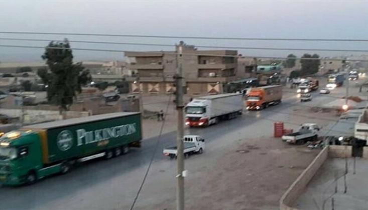 ABD'den YPG'ye 70 Tır Askeri Yardım
