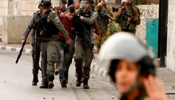 Siyonist Rejim 400 Filistinliyi Tutukladı