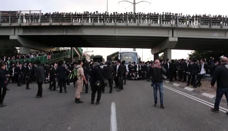 İsrail'de Siyonistler Birbirine Girdi /VİDEO