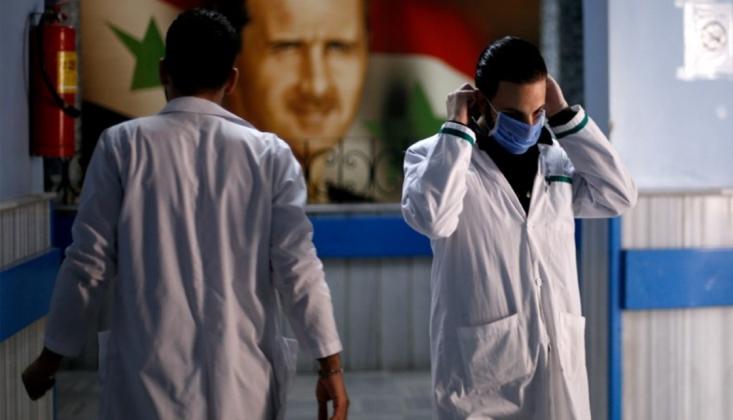 Suriye'de İlk Koronavirüs Vakası Tespit Edildi