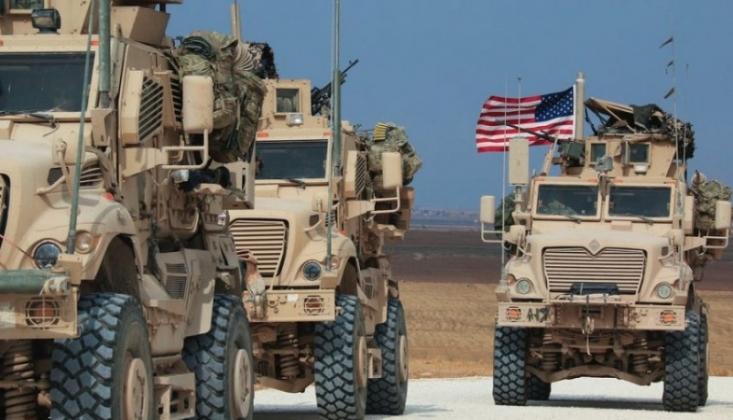 ABD Askeri Konvoyu Haseke'ye Girdi