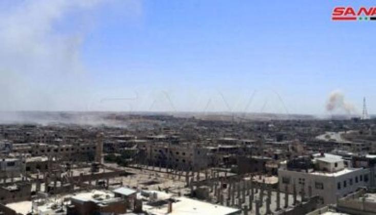 Suriye'de ABD Üssüne Operasyon