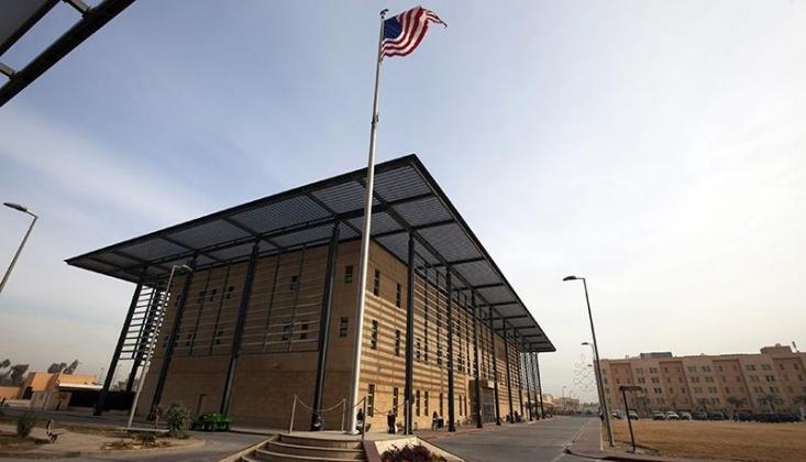 ABD'nin Bağdat Büyükelçiliği'nde Alarm