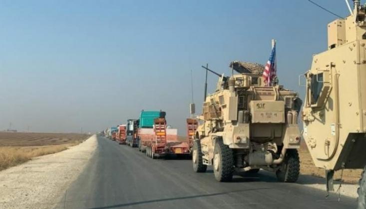 ABD Askeri Konvoyu Irak'tan Suriye'ye Geçti