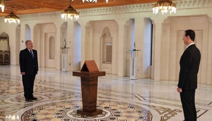 Suriye'de Yeni Hükümet Yemin Etti