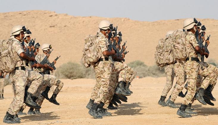 İngiltere'den Arabistan'a Askeri Destek