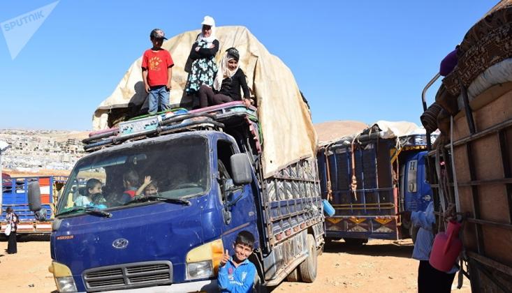 Lübnan'daki Suriyeli Sığınmacılar Ülkelerine Dönüyor