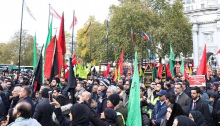 Londra'da Hüseyni Erbain Yürüyüşü Düzenlendi