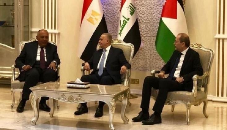 Irak, Mısır ve Ürdün Dışişleri Bakanlarından Ortak Basın Açıklaması