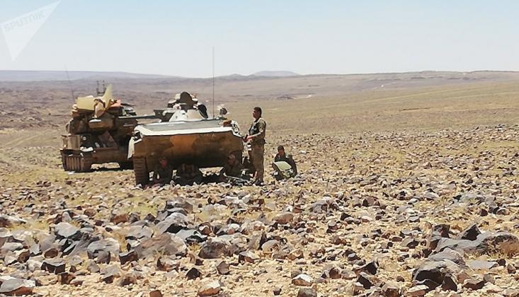 Suriye Ordusuna Saldıran Militanlar Öldürüldü