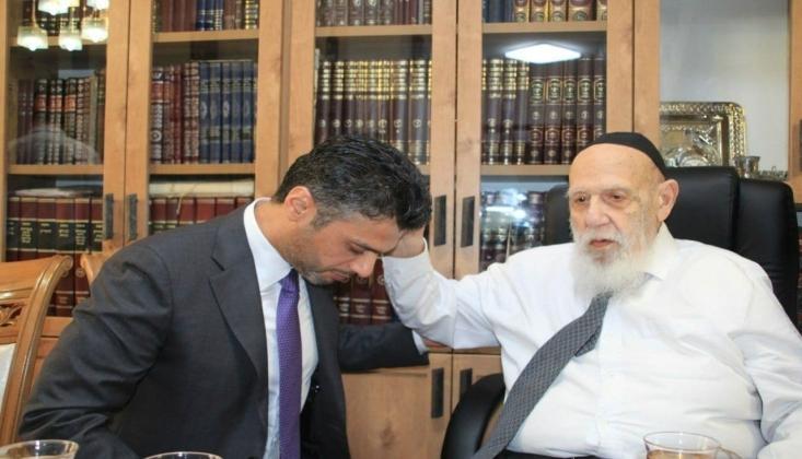 BAE Tel Aviv Büyükelçisi, Siyonist Haham Tarafından Kutsandı!