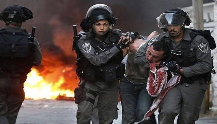 İşgal Güçleri Batı Şeria'da Filistinlilere Saldırdı