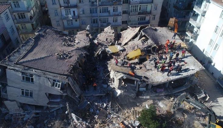 AB, Elazığ Depreminin Ardından Uydu Görüntüleme Sistemini Devreye Soktu