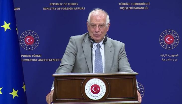 Borrell: Doğu Akdeniz'de Gerilimin Azaltılmasını İstiyoruz