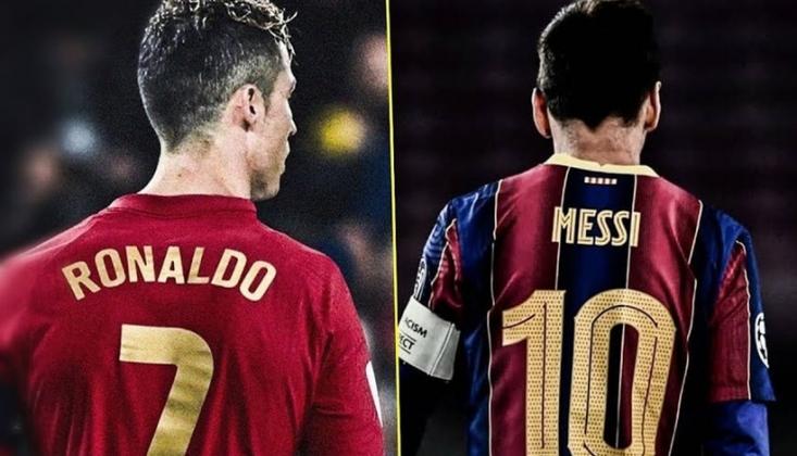 Ronaldo 1 Saatte Messi'yi Geçti!