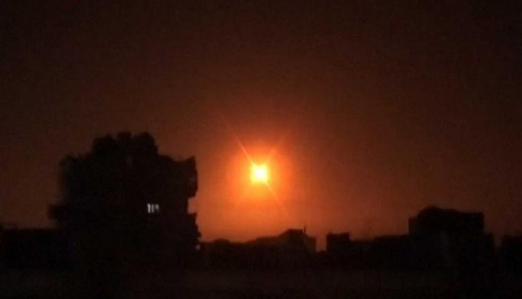 Suriye İsrail'in Füze Saldırısını Engelledi
