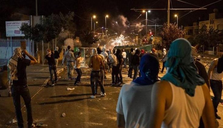İşgal Güçleri Filistinli Gençlere Saldırdı