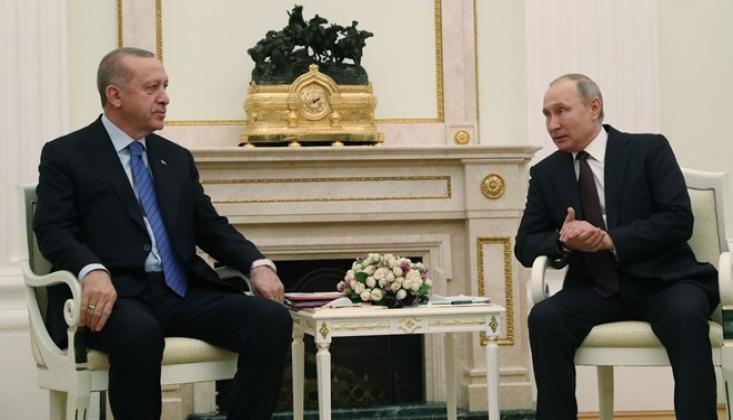 Moskova'da Erdoğan-Putin Zirvesi