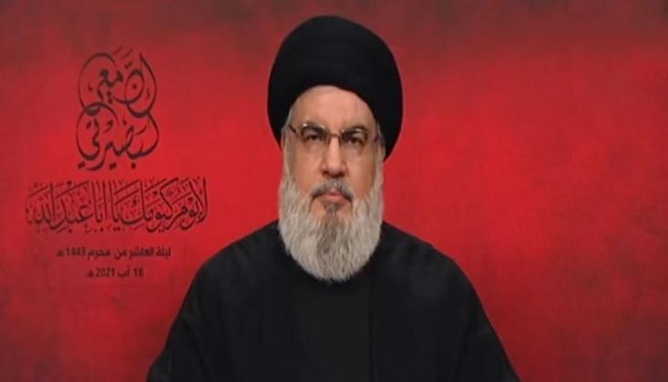 Nasrallah: Kerbela, Doğruya Yardım ve Yanlışla Mücadeleyi Öğretiyor