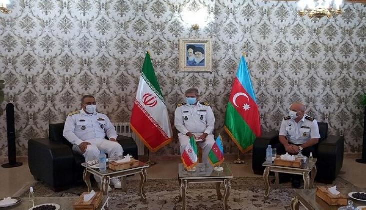 İran ve Azerbaycan'dan Donanma İş Birliği