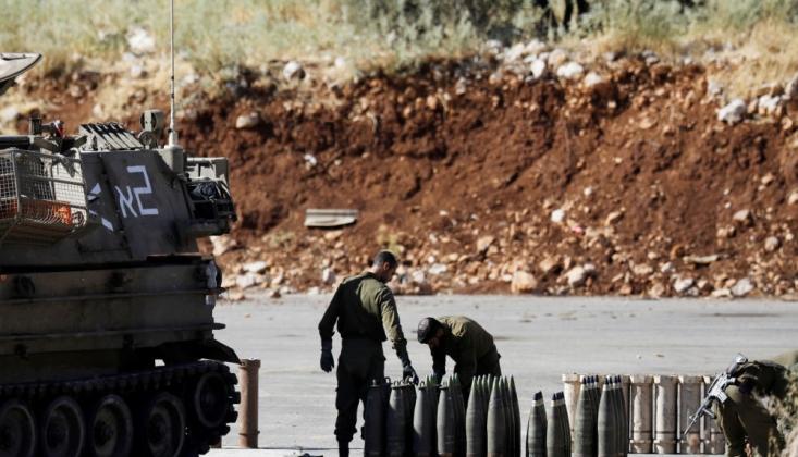 İsrail Lübnan'a Saldırdı