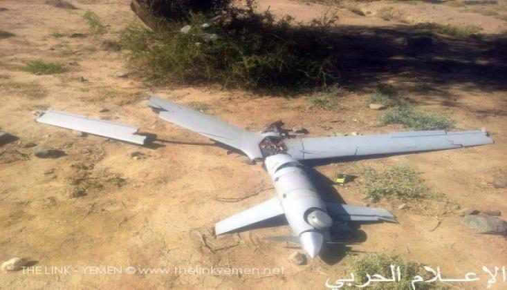 Yemen Ordusu Amerikan Casus İHA'sını Düşürdü