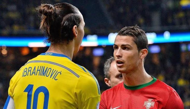 Ibrahimovic'ten Ronaldo'yu Kızdıracak Açıklamalar!