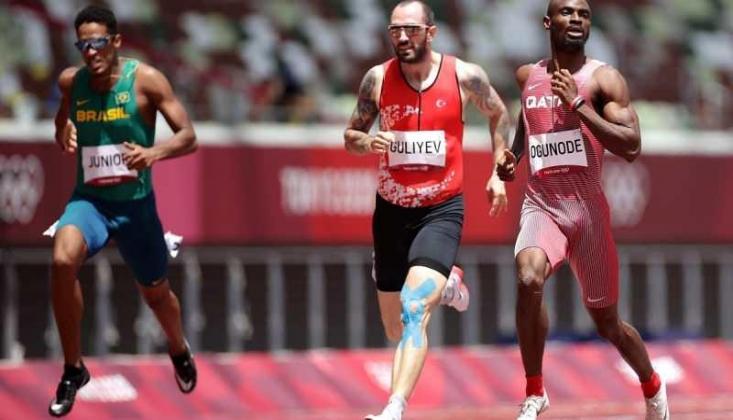 Ramil Guliyev Tokyo'da 200 Metre Yarışında Yarı Finalde