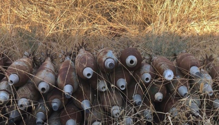 Tel Abyad'da 285 Ağır Silah Mühimmatı Ele Geçirildi
