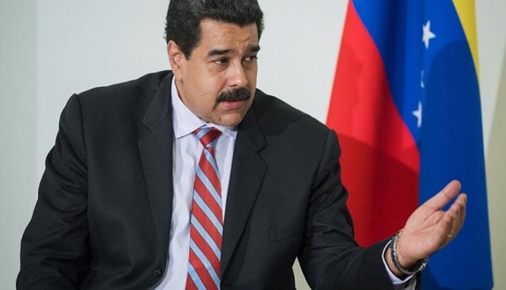 Maduro'nun Trump'ın Venezuela Karşıtı Eylemlerini Eleştirmesi
