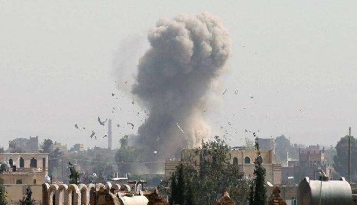 Suudi Koalisyon, 48 Saat İçinde Yemen'e 52 Hava Saldırısı Düzenledi