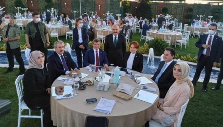 Dört Partinin Genel Başkanı Aynı Masada Bir Araya Geldi