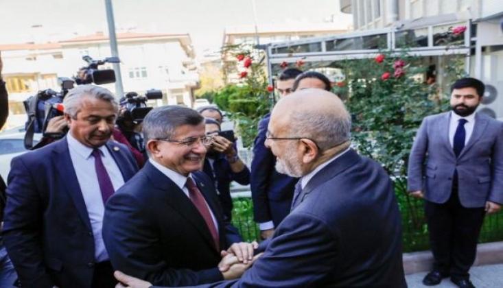 Davutoğlu'ndan 'Yeni Parti' Açıklaması